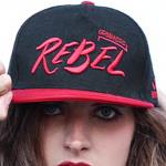 Rebel Snapback Cap Rot