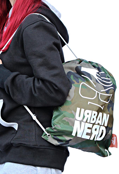 Urbannerd AngryFace Sport Tasche Army
